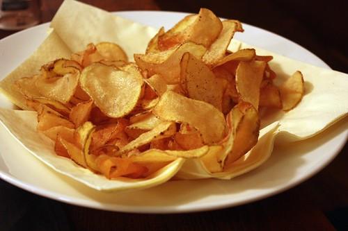 Domaci bramborove chips