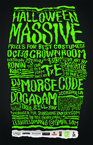 October 30: Massive Portland Halloween Dance Party: Costumes, Music, & Win Portland Trail Blazers Courtside Tickets | Free Before 10:30