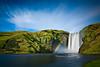 Skógafoss (chris lazzery) Tags: longexposure waterfall iceland rainbow 5d skógafoss skógar canonef1740mmf4l bw30nd