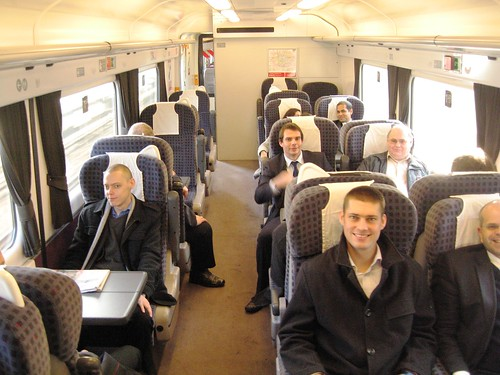First Class on a Private Charter Train for MetLife (UK)