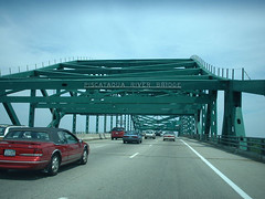 Day 48b - Piscataqua Bridge (Oak Terrace, Maine, United States) Photo