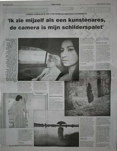 Publication in newspaper... yeuheu