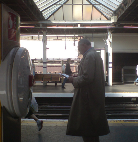 Ken Livingstone at Finchley Road taken by Toby Bryans