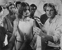 Director Norman Jewison and cast