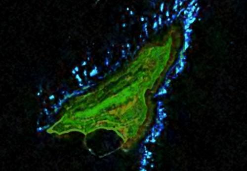 Dao Bach Long Vi - Landsat Image N-48-20_2000 (1:17,500)