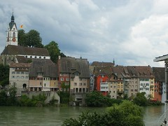 Laufenburg, Switzerland, as seen from Laufenburg, Germany