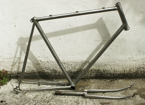 The whole sanded frame