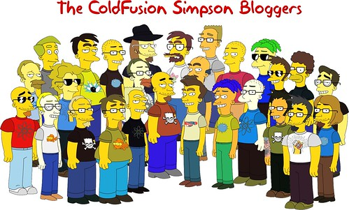 The Simpsons ColdFusion Bloggers