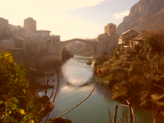 stari, novi most (bojana.ljubisic) Tags: mostar