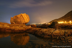 Fist Rock at Dawn, Wanli (*Yueh-Hua 2015) Tags: rock stone canon eos dawn landscapes scenery taiwan tokina scenes 1224mm  30d  wanli  taipeicounty   fistrock canoneos30d horizontalphotograph  t124 tokinaatx124proifdx1224mmf4  2007august wanlishiang