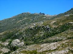 Depuis Bocca di Chiralba : crêtes de l'Incudine, l'Enclume et l'Alcudina