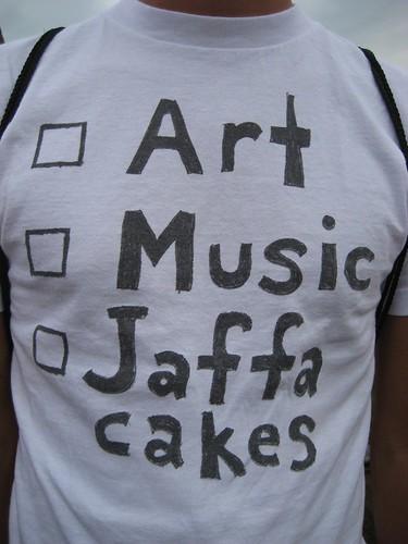 Art, Music, Jaffa Cakes