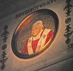 Pope Benedict XVI's roundel