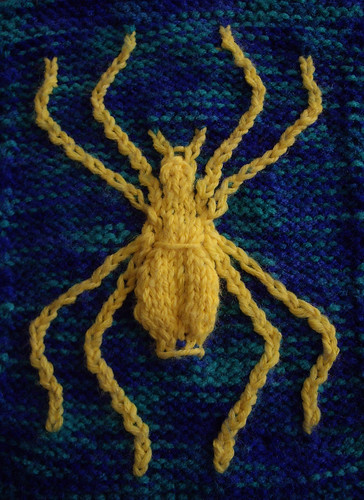 Spider Knitting Pattern : The Spider The Walker Treasury Project