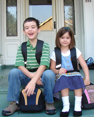1st Day of School '07