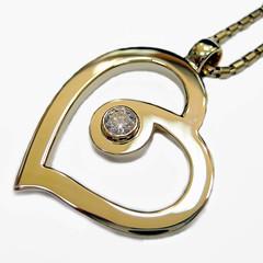 Roberto Coin Cento Heart Necklace