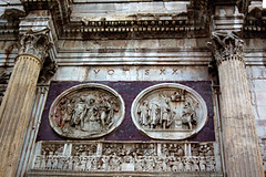 arch of titus - detail