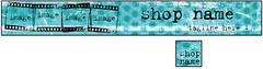Grunge Premade Etsy Shop Banner & Avatar