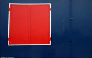 Red and blue | Rood en blauw