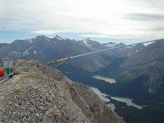 Down antenna (Dave MacDonald) Tags: rockymountains scramble peterlougheedprovincialpark mtindefatigable kananaskislakes
