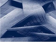 uam05 (Clauminara) Tags: blue azul mxico architecture mexico arquitectura mexicocity df universidad autonoma metropolitana mexic ciudaddemexico xochimilco distritofederal uam mejico monart duotono mjico uamx abstractartaward uamxochimilco universidadautnomametropolitanaunidadxochimilco