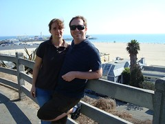 Shelley, Tim and the Santa Monica Pier. (09/19/07)