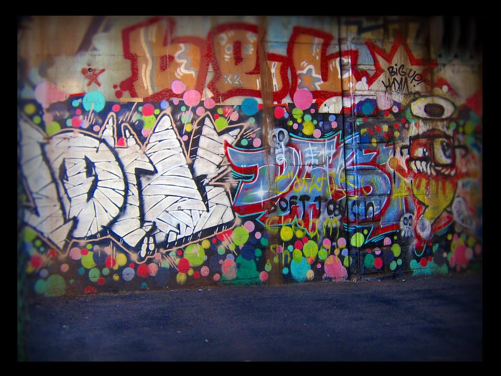 Yokohama graffiti wall -  Theliquidactor Tags Streetart Japan Graffiti Yokohama Sakuragicho