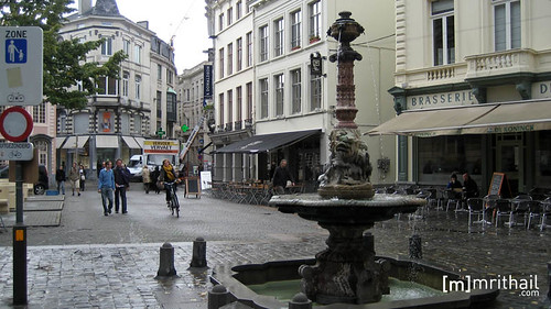 Ghent - Fountain