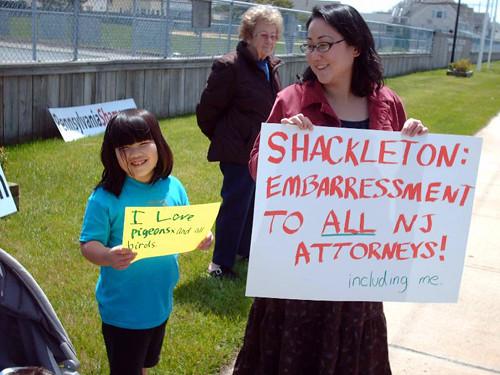 SHARK - 2010-04-24 - Protest of Richard Shackleton 1