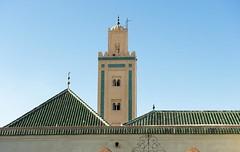 Mosque Ben Youssef. Marrakech. Maroc (courregesg) Tags: africa art architecture maroc arabe marocco afrique mosque traditionalarchitecture medersa africanarchitecture