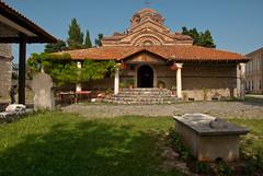 sveta bogorodica perivlepta. (gr0uch0) Tags: travel school summer church macedonia ohrid orthodox balkan reizen jtel telss10 svetabogorodicaperivlepta