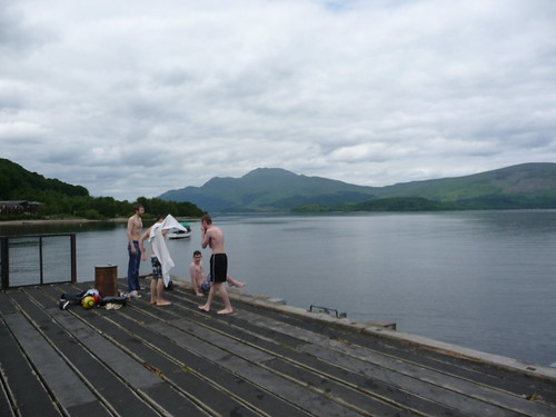 Swimming Loch Lomond