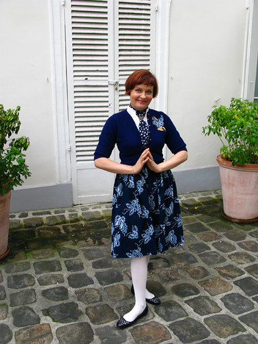 Indigo Skirt
