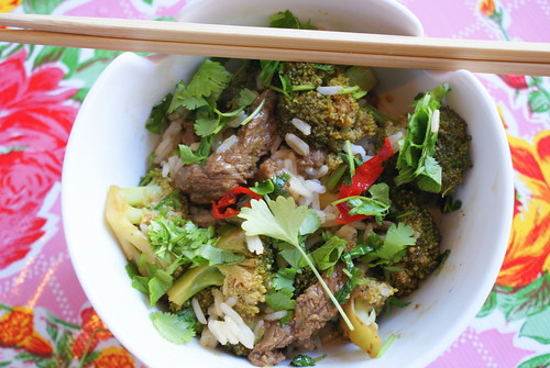 Pittig Chinees rundsvlees met broccoli