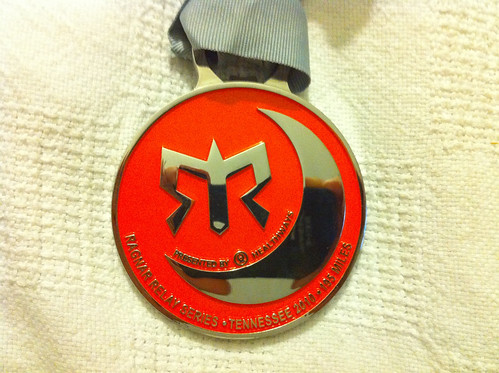 2010 Tennessee Ragnar Relay Finisher's Medal