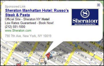 Closeup - Ads in Google Maps