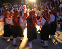 From the Awareness on the Environment - Municipality of Voula (poly_mnia) Tags: girls friends red color colour colors girl dance colours friendship athens greece traditionaldance  dearflickrfriend merhaba merhb