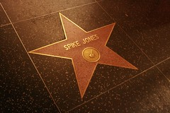 Spike Jones Star on Hollywood Boulevard