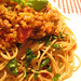 Vegetarian meat sauce pasta which non-veggie people also looooove! by *ö*