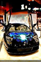 Lamborghini Murcielago (Christopher Chan) Tags: travel usa car america canon lasvegas nevada caesarspalace 1785mm lamborghini supercar murcielago 4k 30d mostviewed