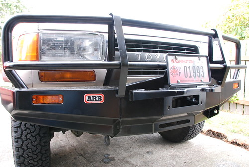 toyota push bar. Toyota 80-series Land Cruiser