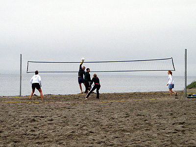 Ballard beach volleyball