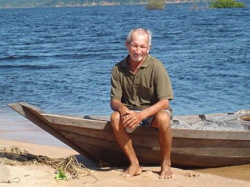 Pescador (Rio Arapiuns - Santarém - PA)