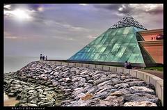 Glassy Pyramid ! - by khalid almasoud