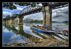 Under The River Kwai Bridge (DanielKHC) Tags: bridge river thailand