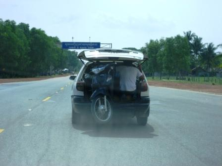 Bike in Trunk