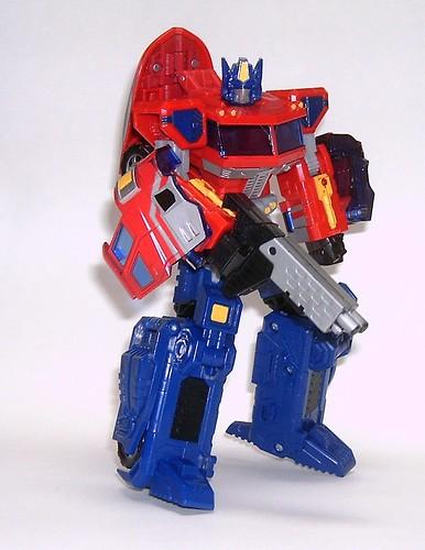 Transformers Classic Optimus Prime - modo robot