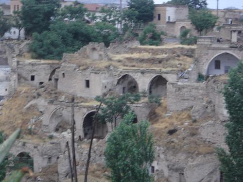 Ruinas en Capadoccia