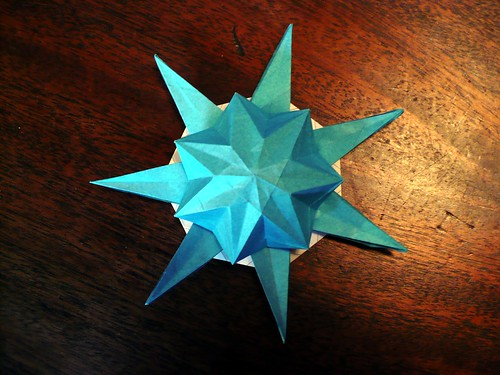 7 Pointed Puff Star