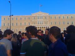 Protesta en Syntagma